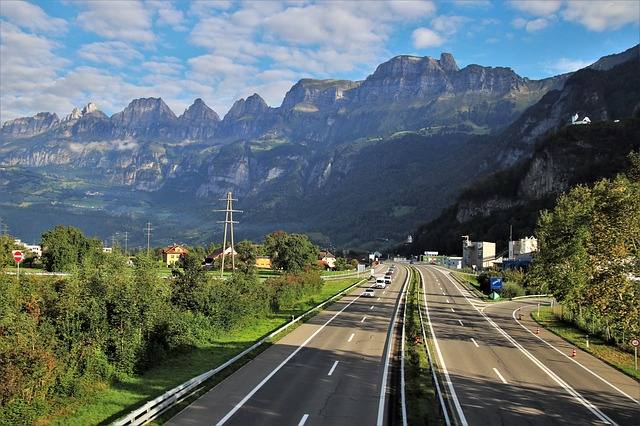 alpské silnice