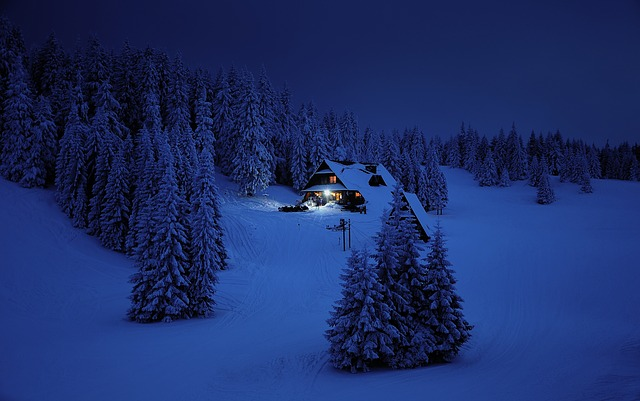 chata na horách
