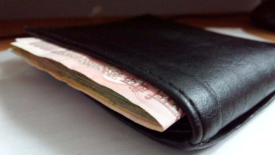 indická peněženka