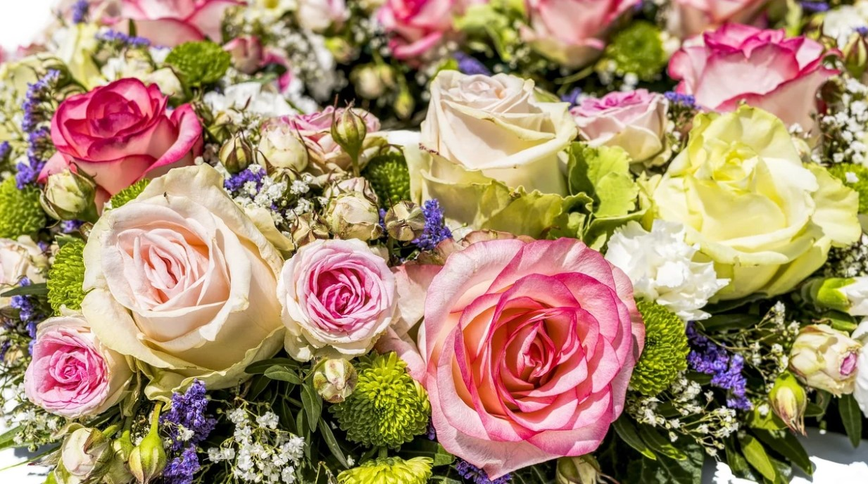 kytice ve flower boxu
